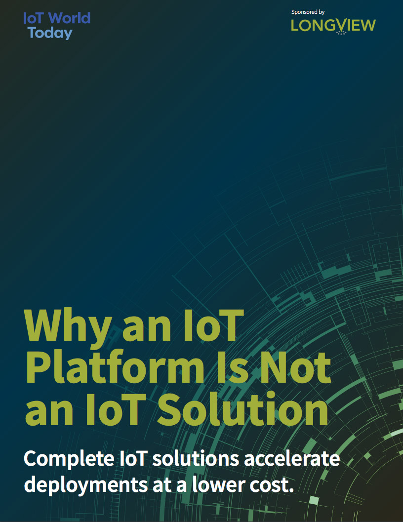 Why an IoT platform is not an IoT solution